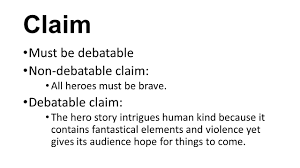 the hero essay what are you writing your essay about main focus  claim must be debatable non debatable claim all heroes must be brave