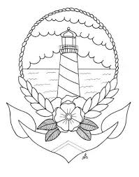 Small Picture 25 best Lighthouse tattoos ideas on Pinterest Nautical drawing