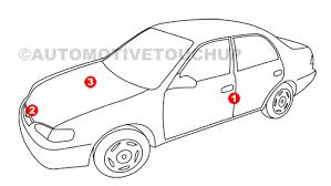 Mercedes Paint Colour Chart Mercedes Benz Paint Code Locations Touch Up Paint