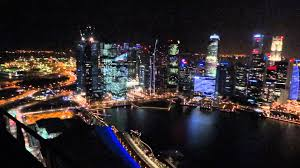infinity pool singapore night. MARINA BAY SANDS SINGAPORE NIGHT LANDSCAPE AT ROOFTOP POOL PART 3 - YouTube Infinity Pool Singapore Night N