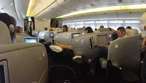 air new zealand 777 200 business premier nz103 2 point s