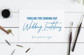wedding invitation wedding stationery wedding invitation timeline