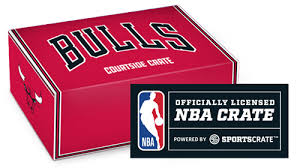Chicago Bulls Courtside Crate from Sports Crate