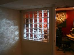 how to install a glass block wall