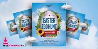 easter egg hunt template free easter egg hunt flyer template freedownloadpsd com
