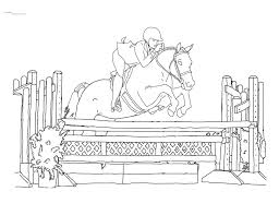 Small Picture Best Horse Jumping Coloring Pages Ideas New Printable Coloring
