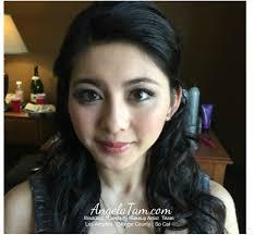 makeup and hair design angela tam weddingcelebrity makeup