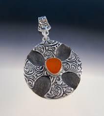 celtic or maltese cross pendant