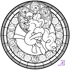 Catholic Stained Glass Coloring Pages With Clip Black And White