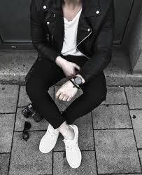 how to wear a leather jacket mens black leather jacket outfits outfit style ideas white t