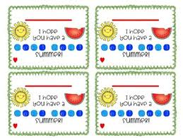 Summer Gift Tags Cool Summer Gift Tags Editable