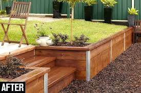 timber retaining wall build a retaining wall timber retaining wall cost nz