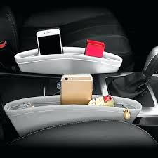 faux leather car seats faux leather car seat side pocket car accessories black 1 piece faux
