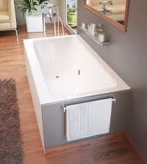 60 x 30 bathtub center drain