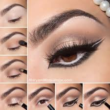 charming eye makeup tutorial with full eye liners styles weekly