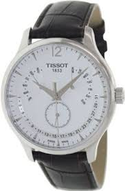 tissot tradition perpetual calendar men s watch t0636373603700 tissot tradition silver dial stainless steel case mens watch t0636371603700 tissot