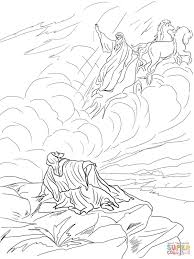 Elijah Fed By Ravens Coloring Page Bible Printables Pinterest And