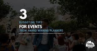Budgeting For An Event Budgeting For Events A Guide By Award Winning Planners