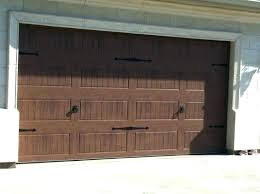 wood stained garage doors door la list staining gel stain metal gara