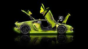 lamborghini aventador fantasy butterfly kiwi car
