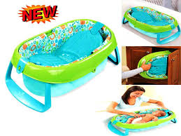 image of new inflatable baby bath seat