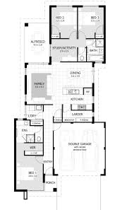 Modern Three Bedroom House Plans House Plans For 3 Bedrooms Cool 3 Bedroom House Floor Plan Home