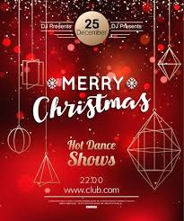 free dance flyer templates christmas dance flyer template party or poster design royalty free