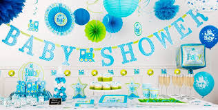 Welcome Baby Boy Baby Shower Decorations