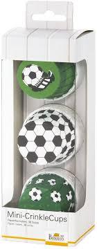 """<b>Набор</b> бумажных <b>форм для кексов</b> Birkmann """"Футбол"""" 5см, 36 шт ..."""