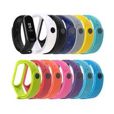 <b>A1 Color silicone</b> strap for xiaomi Band 3 and 4 generations Sale ...