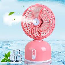 quạt mini-quạt hơi nước mini phun sương tích điện kiểu mới tiện lợi như máy  lạnh mini di động