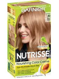 Creme Of Nature Permanent Hair Color Chart Medium Natural Blonde 80 Butternut