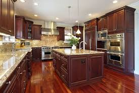 Kitchens With Cherry Cabinets Interesting Kitchen White Cherry Cabinets Black Cherry Wood Kitchen Cherry Wood
