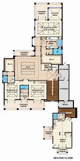 5 Bedroom Beach House Plans Luxury Beach Style House Plan 6 Beds 6 5 Baths  Sq Ft Plan