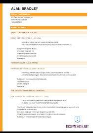 Common Resume Format Pelosleclaire Com
