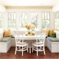 Bench Breakfast Nook Decorating Ideas White Wooden Breakfast Nook Table With Storage