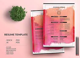 Colorful Resume Templates Creative Resume Templates 100 Examples To Download Guide 22