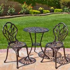 aluminum patio furniture.  Aluminum Best Choice Products Cast Aluminum Patio Bistro Furniture Set In Antique   Walmartcom To