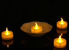 Battery Operated Amber Led Lights Hot Item Led Tea Light Amber Yellow Flickering Bulb Long Lasting Battery Operated Electric Votive Candle Realistic And Bright Faux Tealights Dia