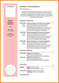 Formatos De Resume Barca Fontanacountryinn Com