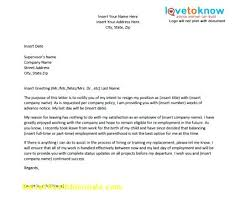 5 Internship Resignation Letter Template Quitting Employee ...
