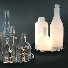 glass bottle table lamp modern wine bottle table lamps white glass bottle table lights fixture restaurant