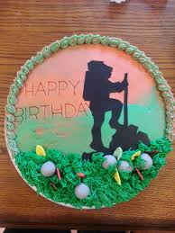 Hiking Cake Designs Hiking Cake In 2020 Birthday Cakes For Men Silhouette