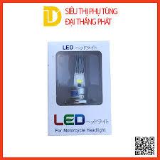 Đèn pha LED xe máy BMA 2 tim chân H4 siêu sáng chính hãng 109,000đ