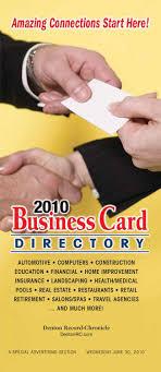 business card directory by larry mcbride issuu