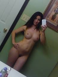 Naked girl with cell phone