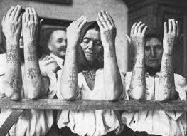 Tradiční Tetování Chorvatských Křesťanů Rodná Víra