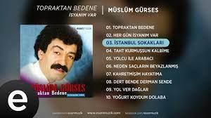 İstanbul Sokakları (Müslüm Gürses) Official Audio #istanbulsokakları # müslümgürses - Esen Müzik - YouTube