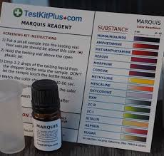 Ehrlich Test Kit Chart The Most Reliable Marquis Reagent Test Kits A 2019 Buyers