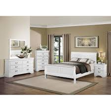 White 4 Piece Queen Bedroom Set - Mayville | RC Willey Furniture Store